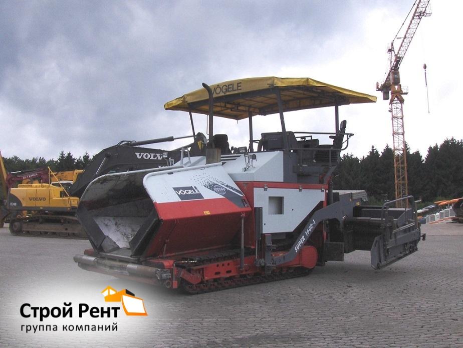 Асфальтоукладчик Vogel Super 1600-1