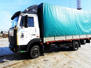 Бортовой грузовик МАЗ 437040