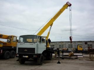Автокран КС-55717